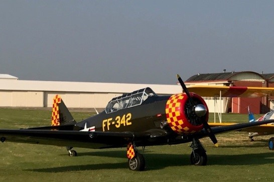 T-6 Texan - Rides - $250 (approx. 20-25 minutes)