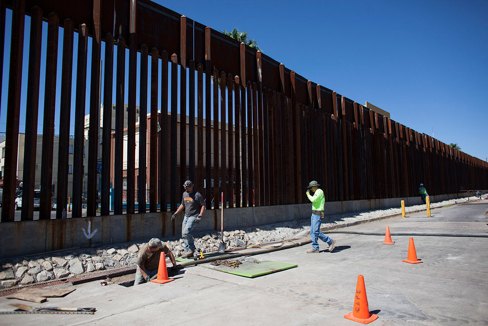 It's A better Idea to Dig a Huge Hole than to Build trump's Border wall -