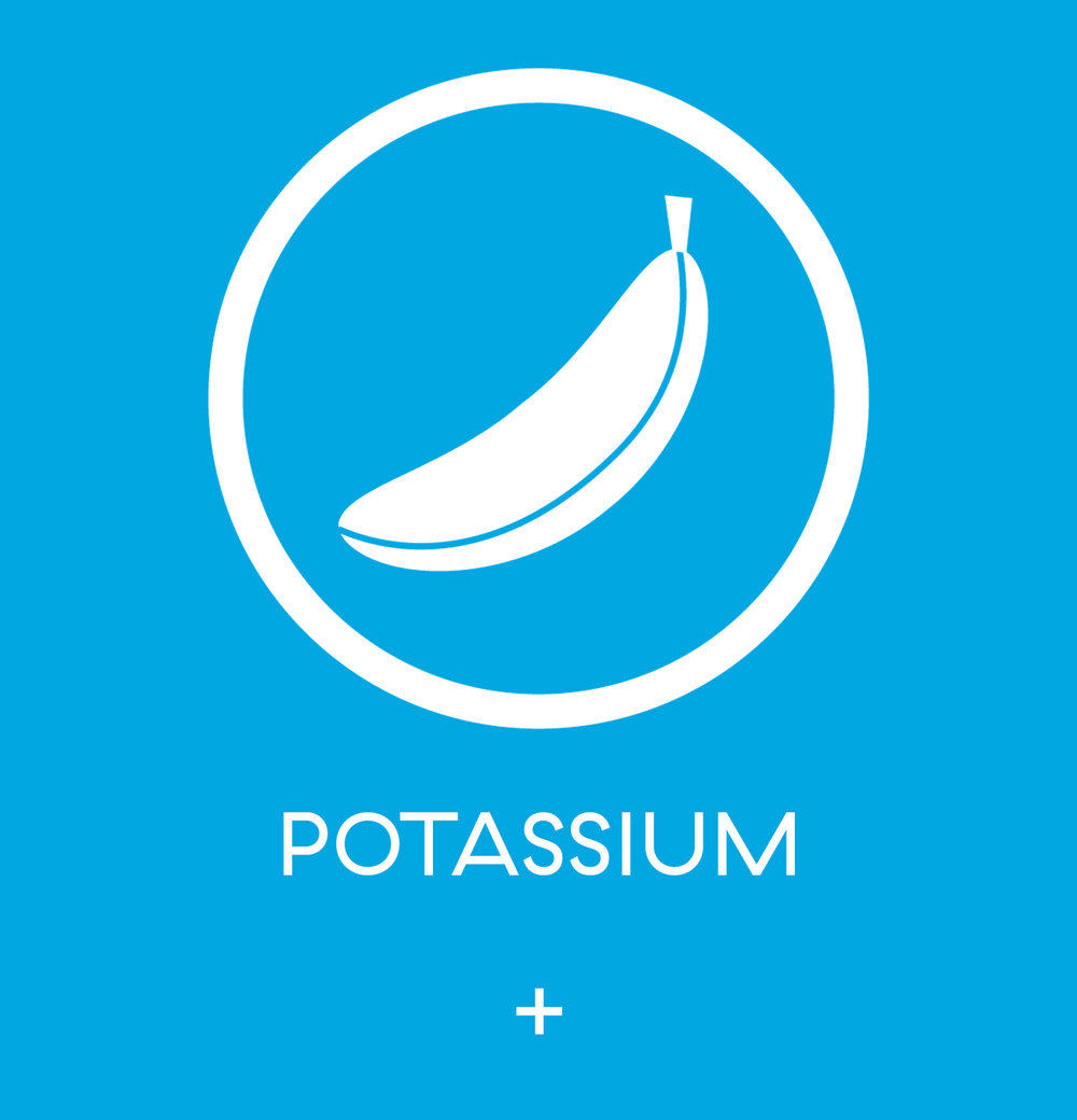 Potassium - here is where you start talking about it