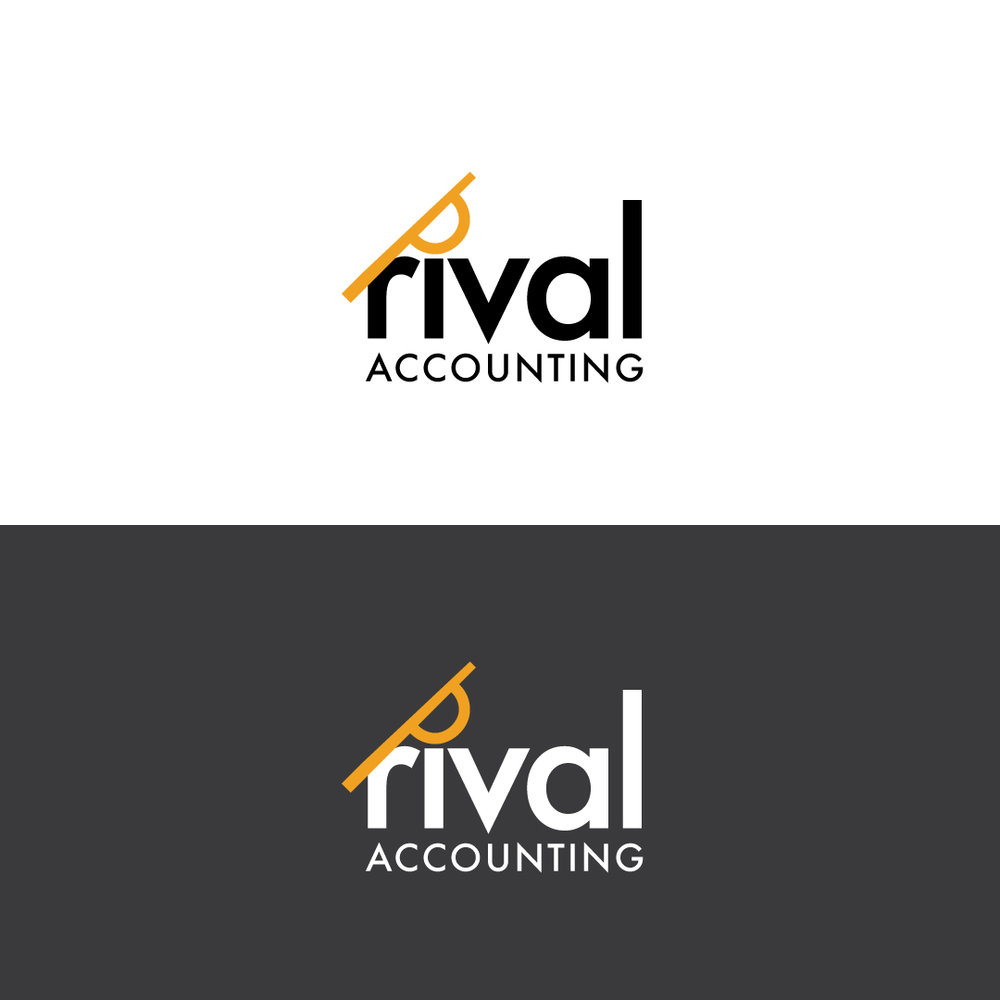 Rival Accounting - Logo and Branding Development