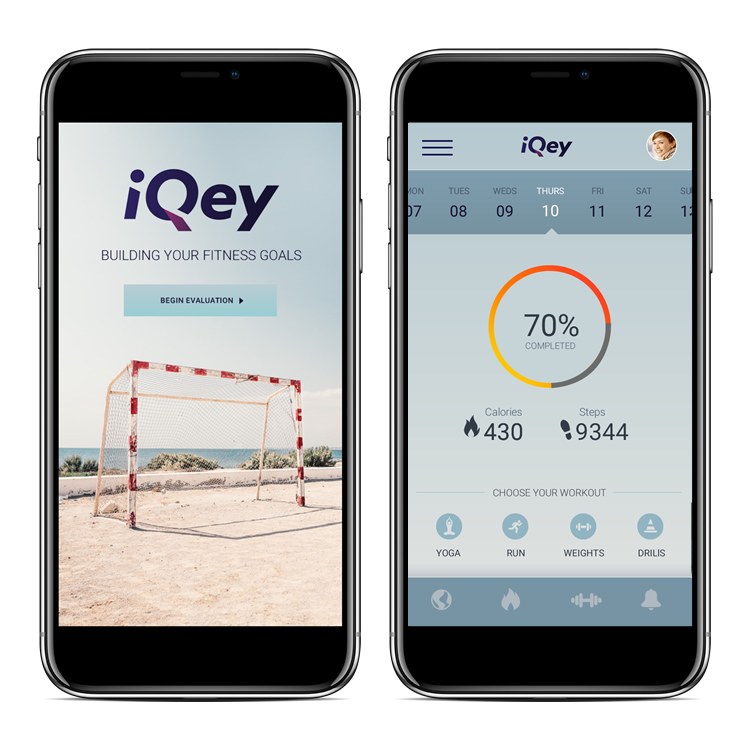 iQey Fitness - PROJECT: Mobile App DesignSKILLS: Product Research, Wireframes, UI DesignDETAILS: Design for a fitness mobile app