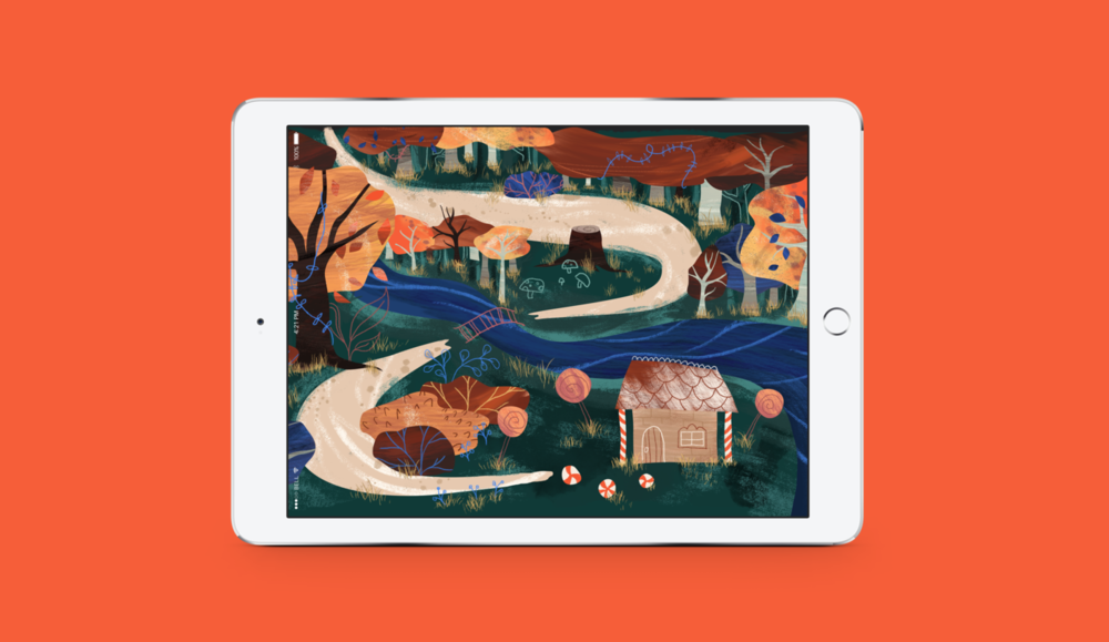 Hansel and Gretel - WEB DESIGNKindle's version of the timeless tale adapted and animated for tablet screens.