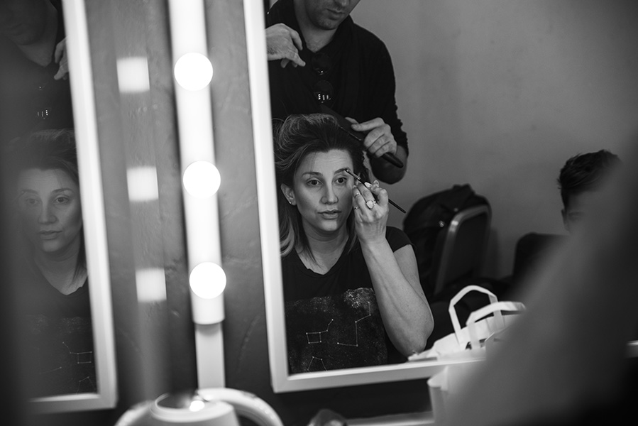 Backstage before Solo Concert in London @ The Leicester Square Theatre - 2016