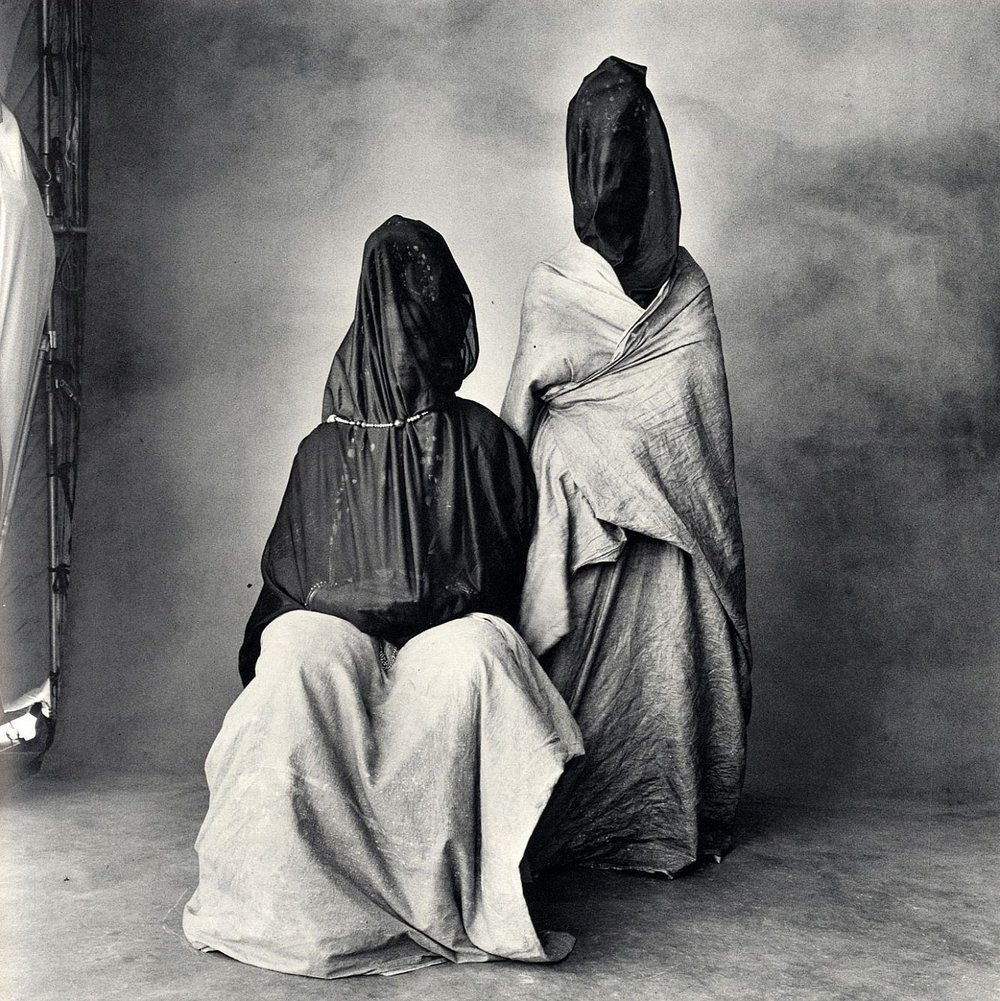 Irving Penn - Two Guedras, Morocco, 1971