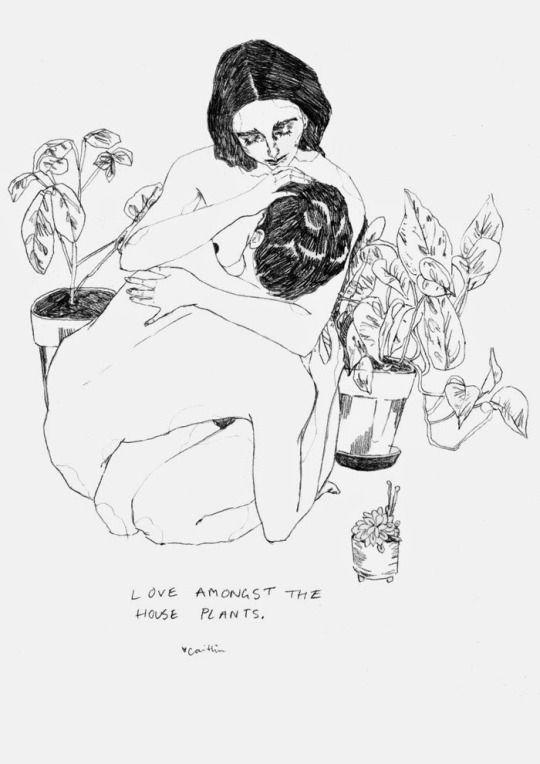 Caitlin Shearer,Love Amongst the House Plants