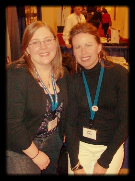 AWP Conference ca. 2009 with  Relief Journal  founder Kimberly Culbertson. Chicago, Illinois