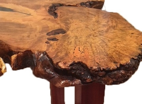 Ambrosia maple burl table