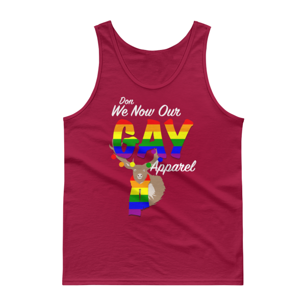 Don our gay apparel