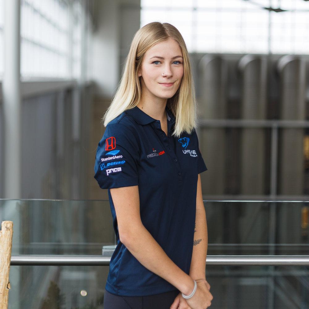Hannah Beynon Controls Lead