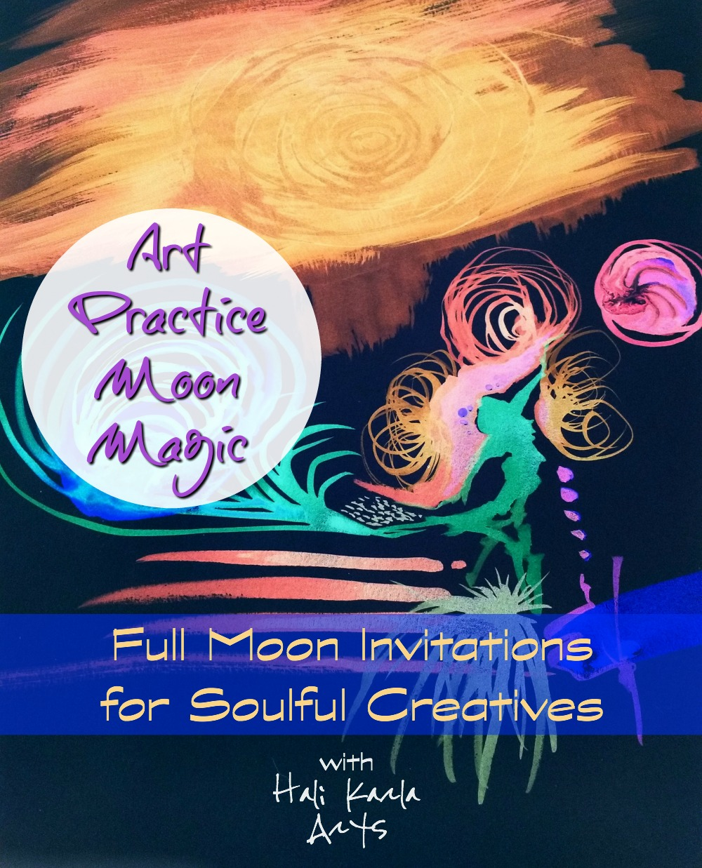 first full moon of 2017 art practice moon magic invitations are