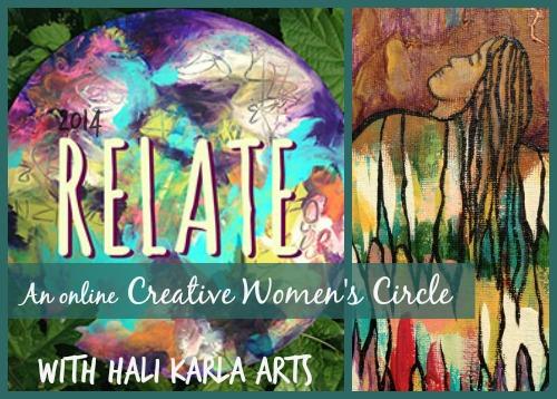 relate, women's contemplative creativity circle
