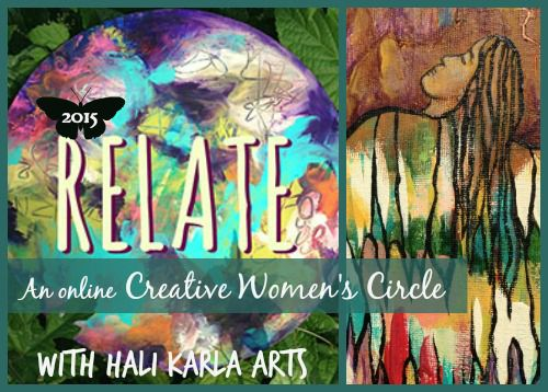 Women's Creativity Circle - 21 day practice - RELATE with Hali Karla Arts