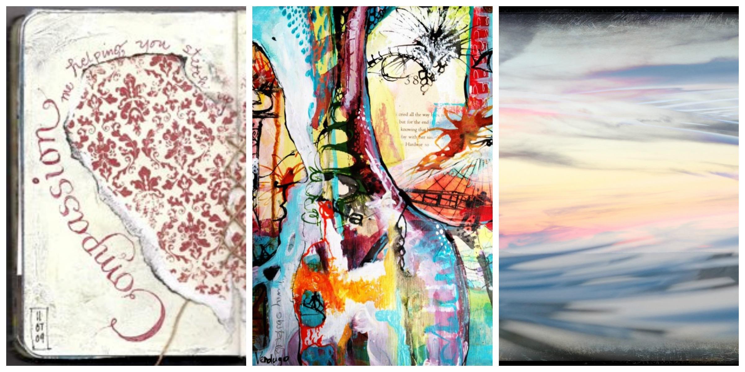 Art by Spectrum contributors Betsy Canas Garmon, Tracy Verdugo and Lisa Wilson