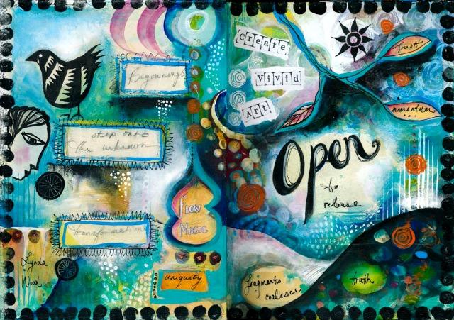 Spectrum journal page by Lynda Wood