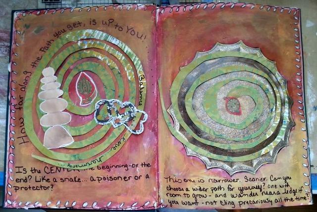 Spectrum journal page by Melanie Kiser