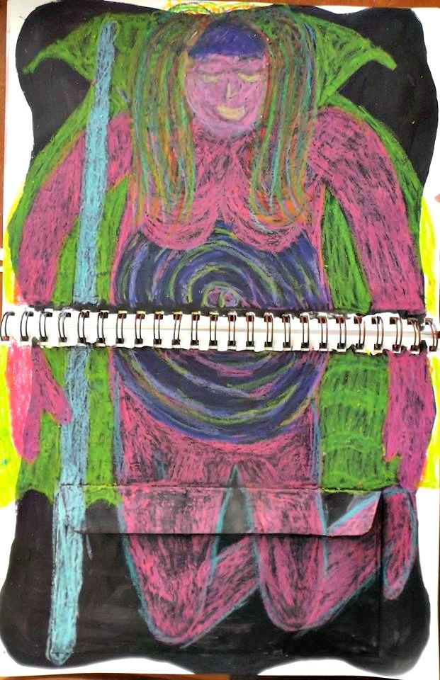 Spectrum journal page by Michelle Casserley