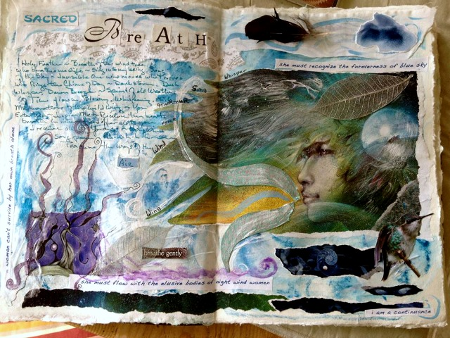 Spectrum journal page by Wendy Sarno