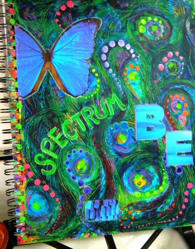 journal cover for Spectrum, Whinnie Calhoun