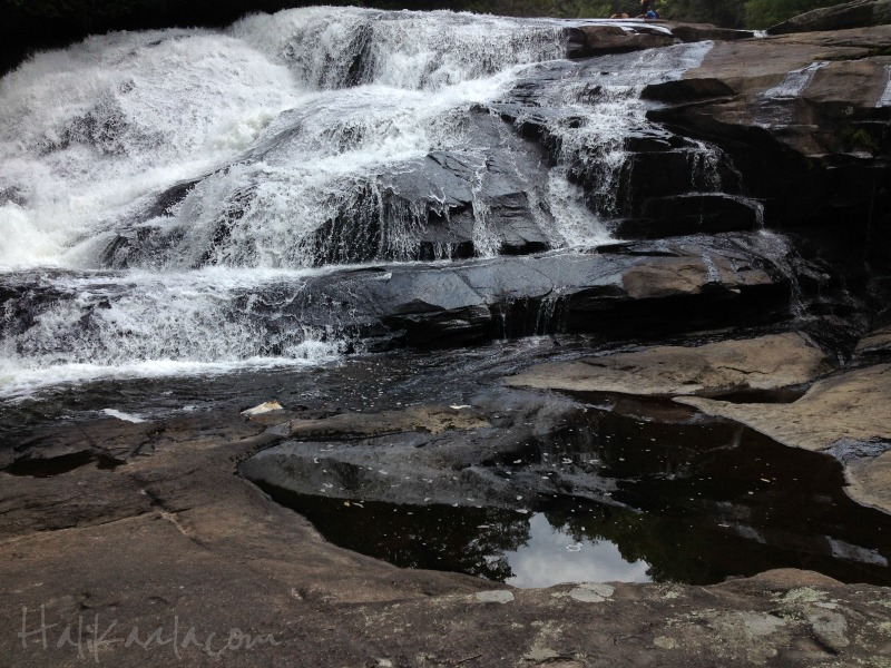 Triple Falls in North Carolina, Hali Karla Arts