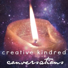 guest interview post for Creative Kindred Conversations