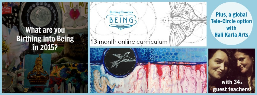 Give~Away: 13 month online curriculum to Birth Your Dreams into Being