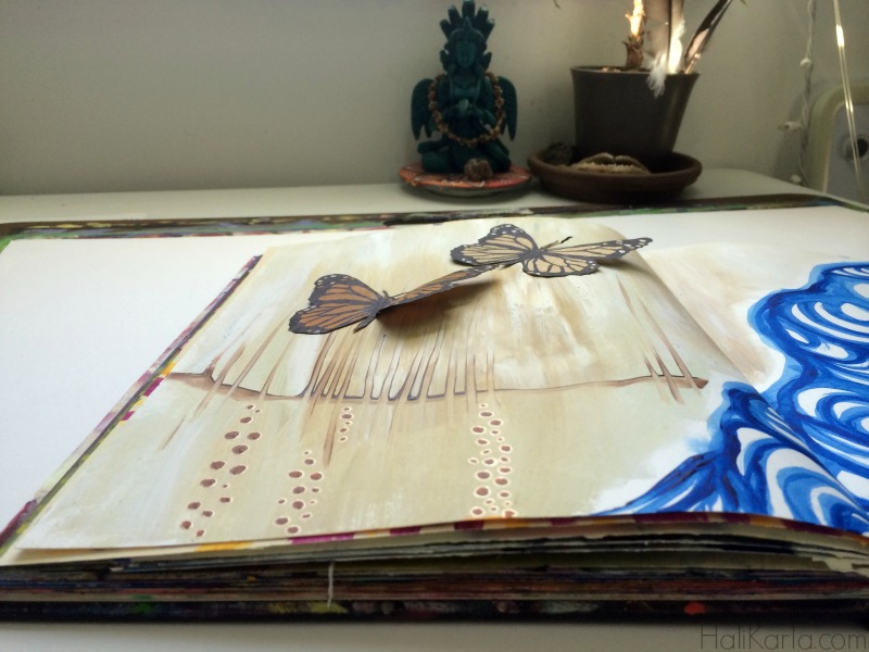 art journal, Hali Karla