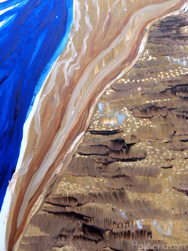 art journal detail, Hali Karla