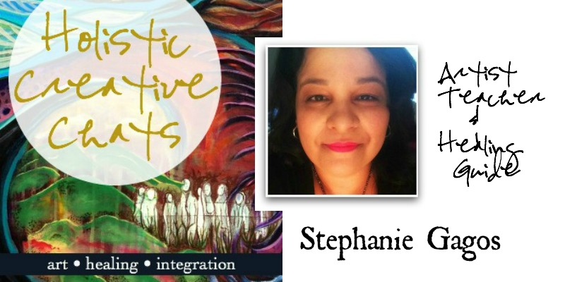 Listen to a free chat with artist and healing guide Stephanie Gagos