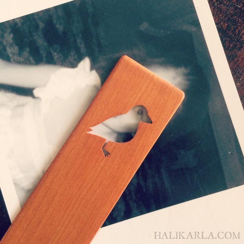 bird bookmark cutaway