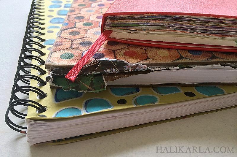 art journal supplies for air travel