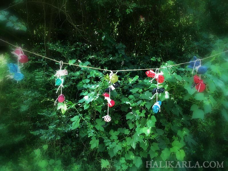 prayer ties, Hali Karla Arts