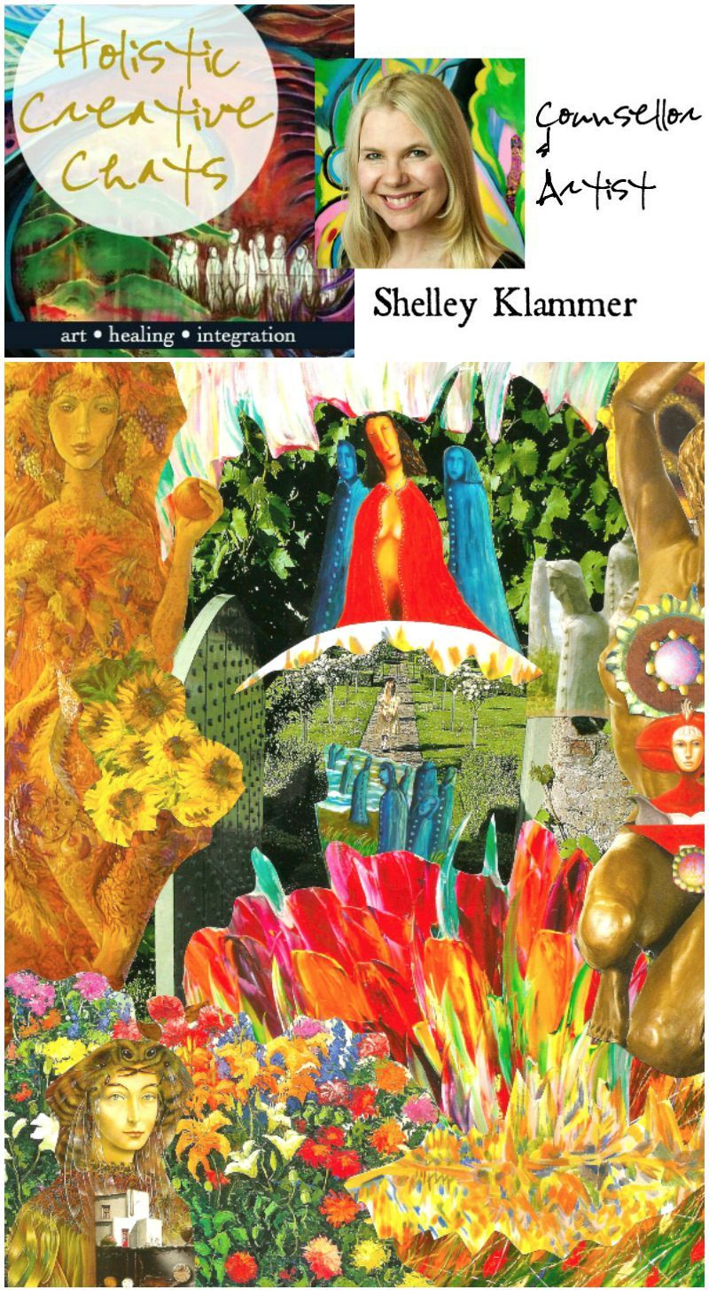 Holistic Creative Chat with Counsellor and Artist Shelley Klammer at Hali Karla Arts