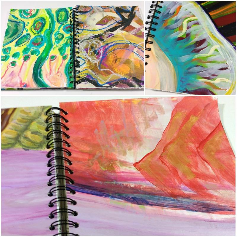 studio-scrap art journal for altering, Hali Karla Arts