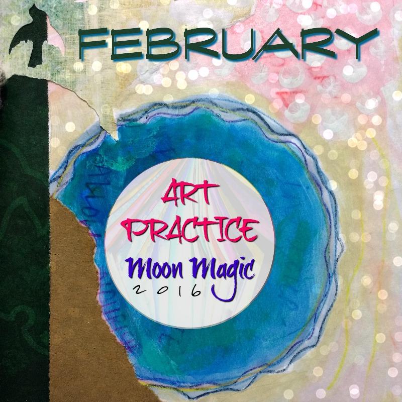 Art Practice, Moon Magic: February Creative Practice Invitation