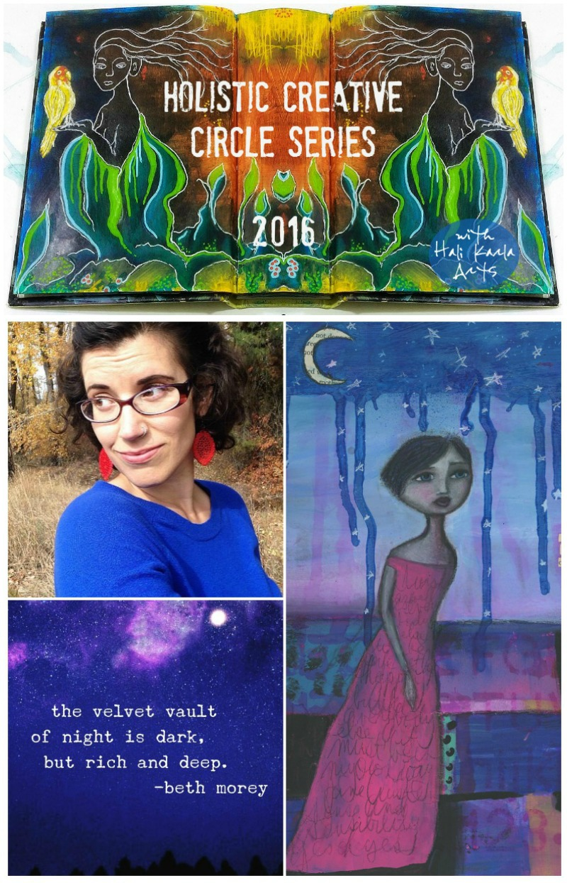 author, coach and artist, Beth Morey shares about creativity, healing and the unexpected gifts of dance in thie Holistc Creative Chat with Hali Karla Arts