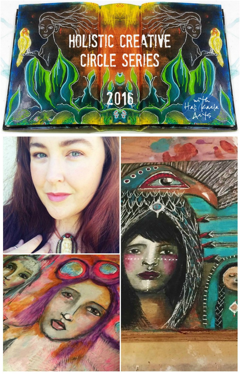 Holistic Creative Chat with Intuitive Artist Kristina Oppegard
