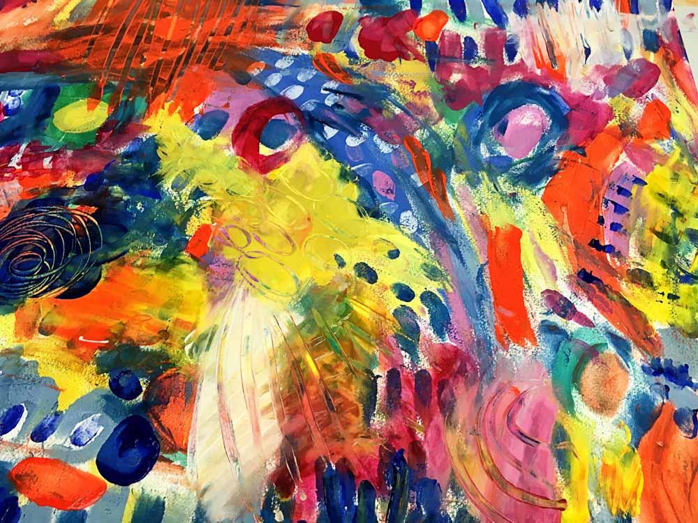 Holistic Creative Guest Post by artist and mama Briana Goetzen