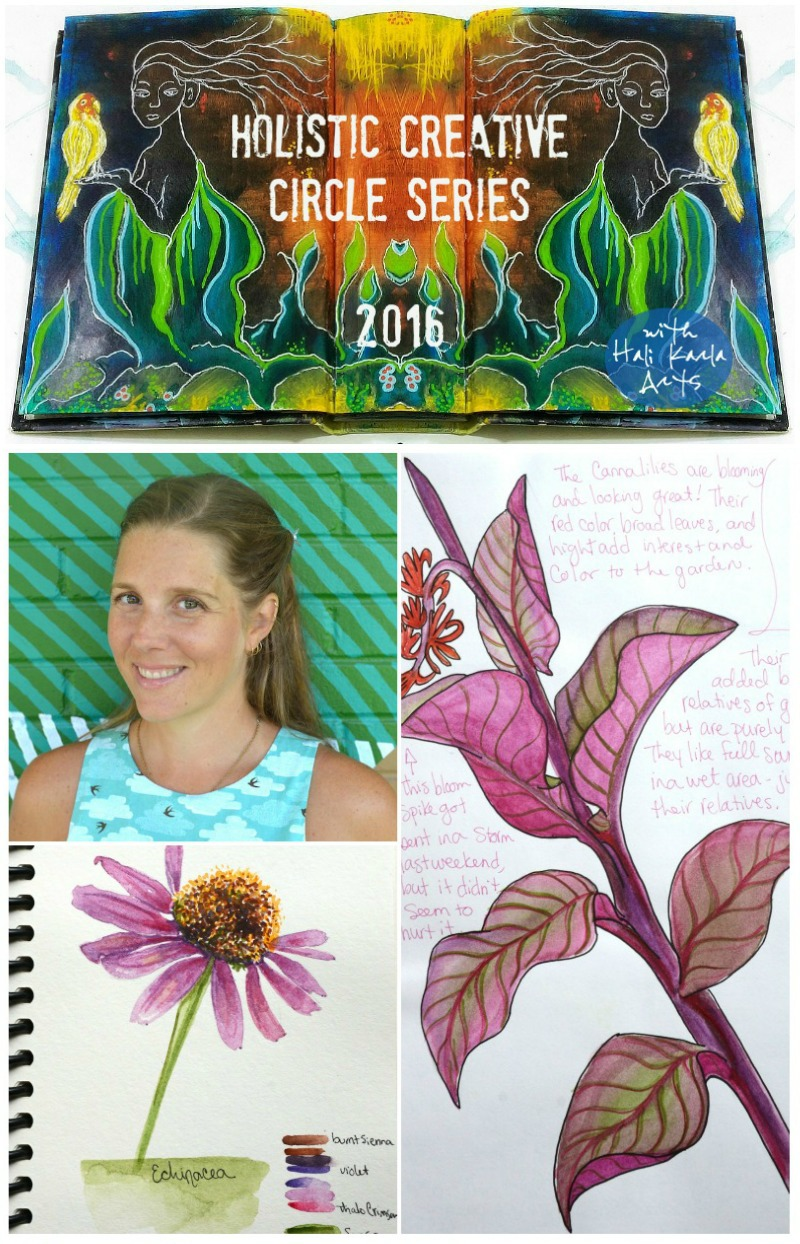 Holistic Creative Chat with nature artist, author and teacher Kelly Johnson!