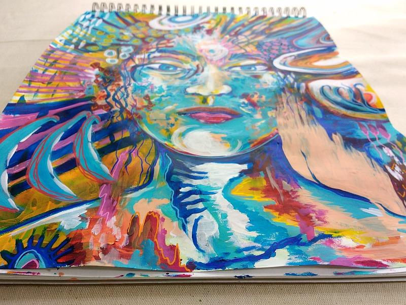 Art Practice Moon Magic {Aries}, Hali Karla