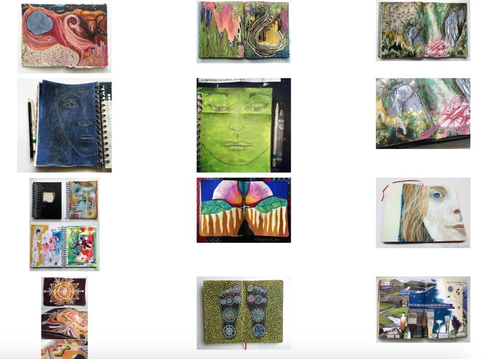 art journal snapshot