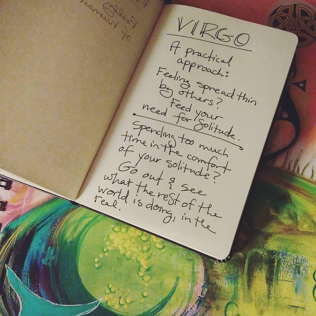 art practice moon magic: new moon in Virgo