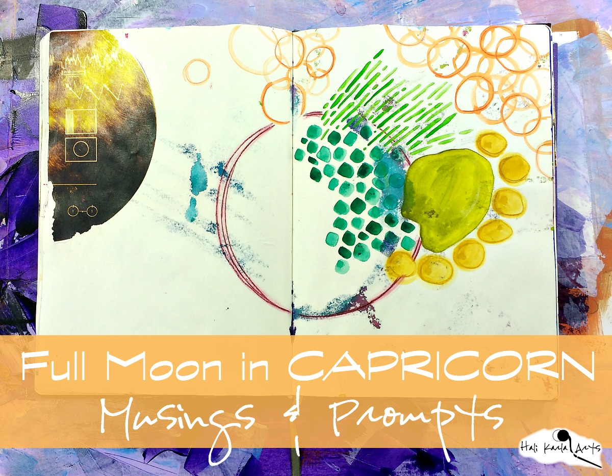 Full Moon Musings for your Creative Practice & Reflection