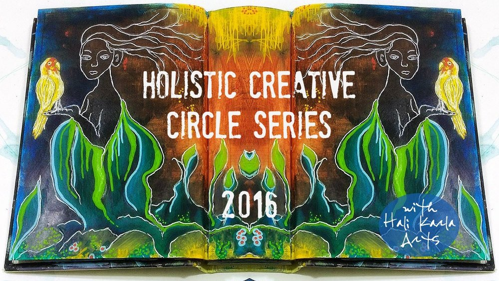 Holistic Creative Circle Series - free interviews and guest posts with artists, healers and visionaries for your holistic-creative practice, inspiration and life!