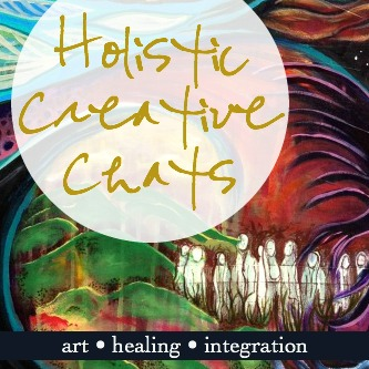 art, healing and creative process... - Over 45 conversations with inspiring teachers, artists, writers and more.