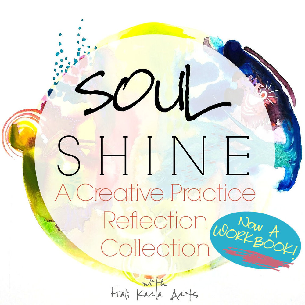 A Creative Practice Reflection Collection workbook with audios inspired by archetypes, needs and instincts we all carry within, from Hali Karla Arts.