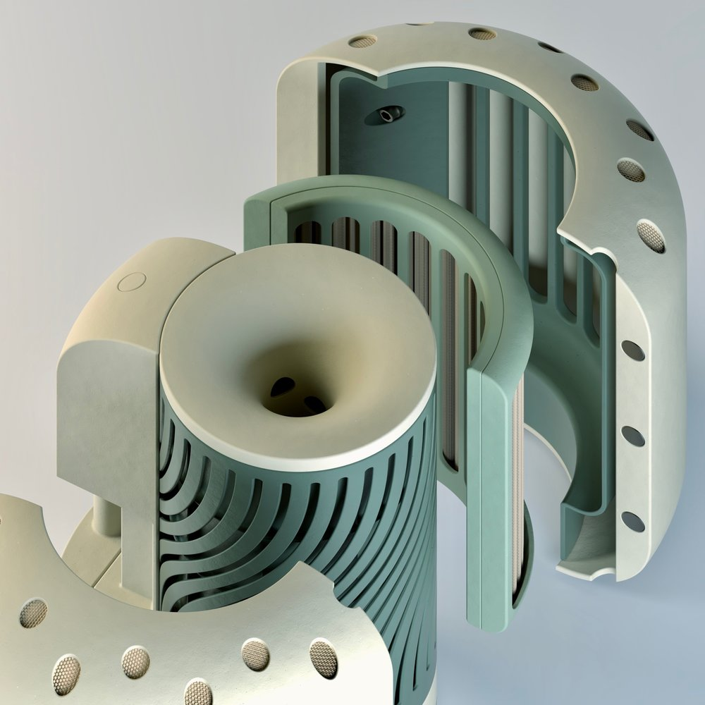 AP2 - Air Purifier. Exploded View