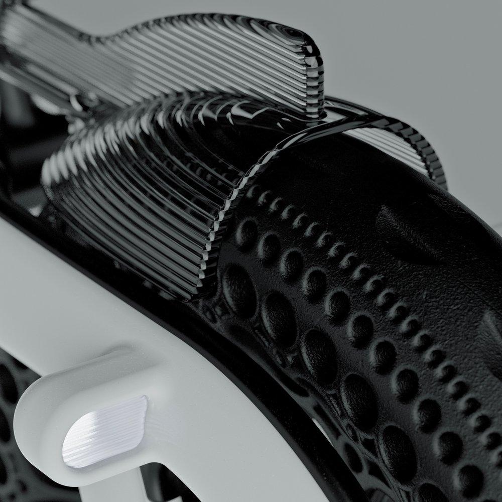 Close Up on Electric Bike
