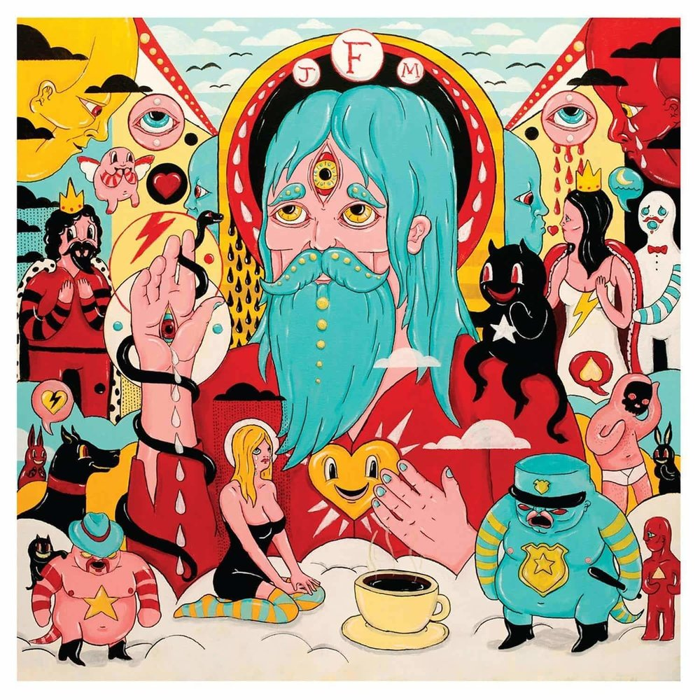 FATHER JOHN MISTY - FEAR FUN $25 download code Sub Pop 2012