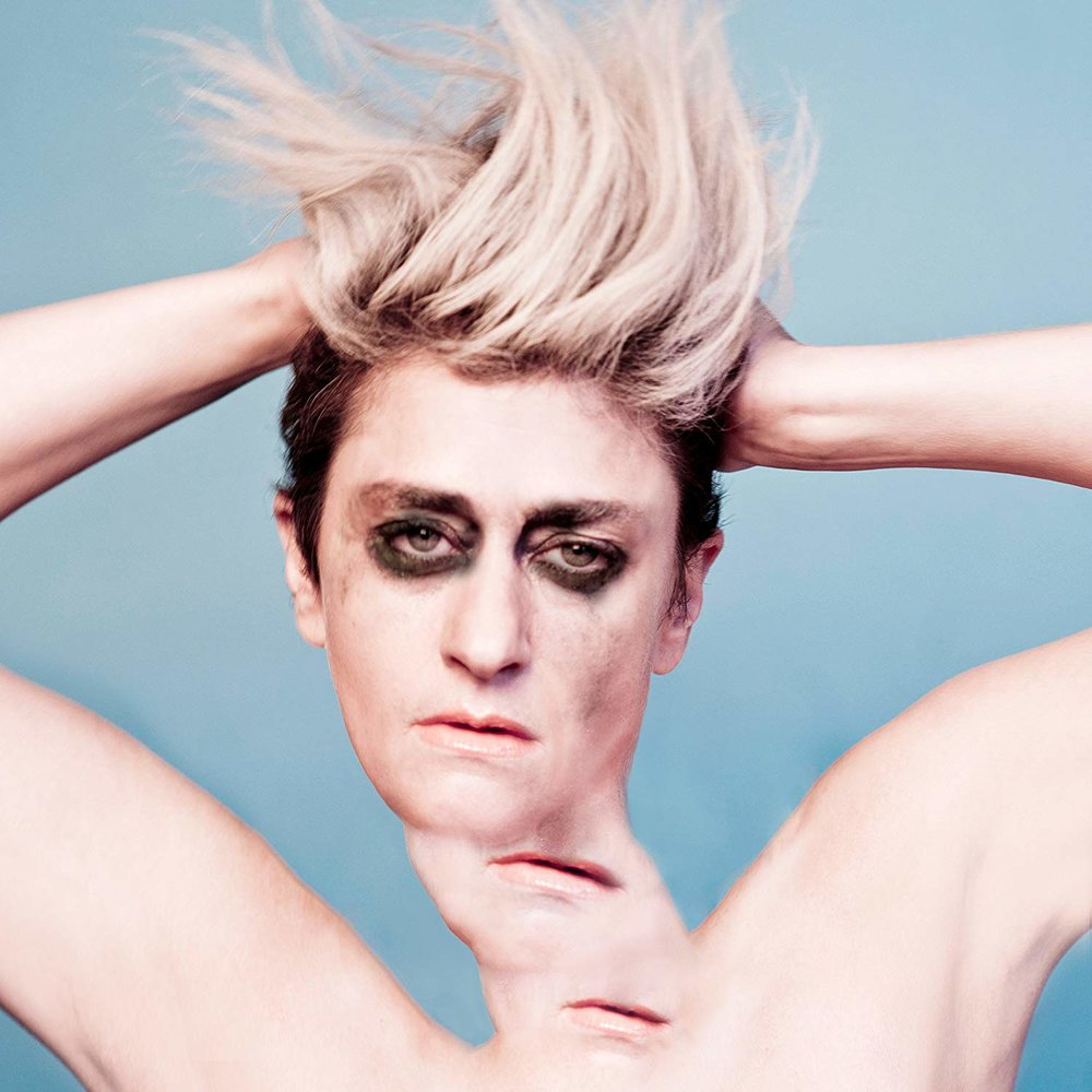 PEACHES - RUB $23  limited edition clear vinyl download card @ 2015 U She Music