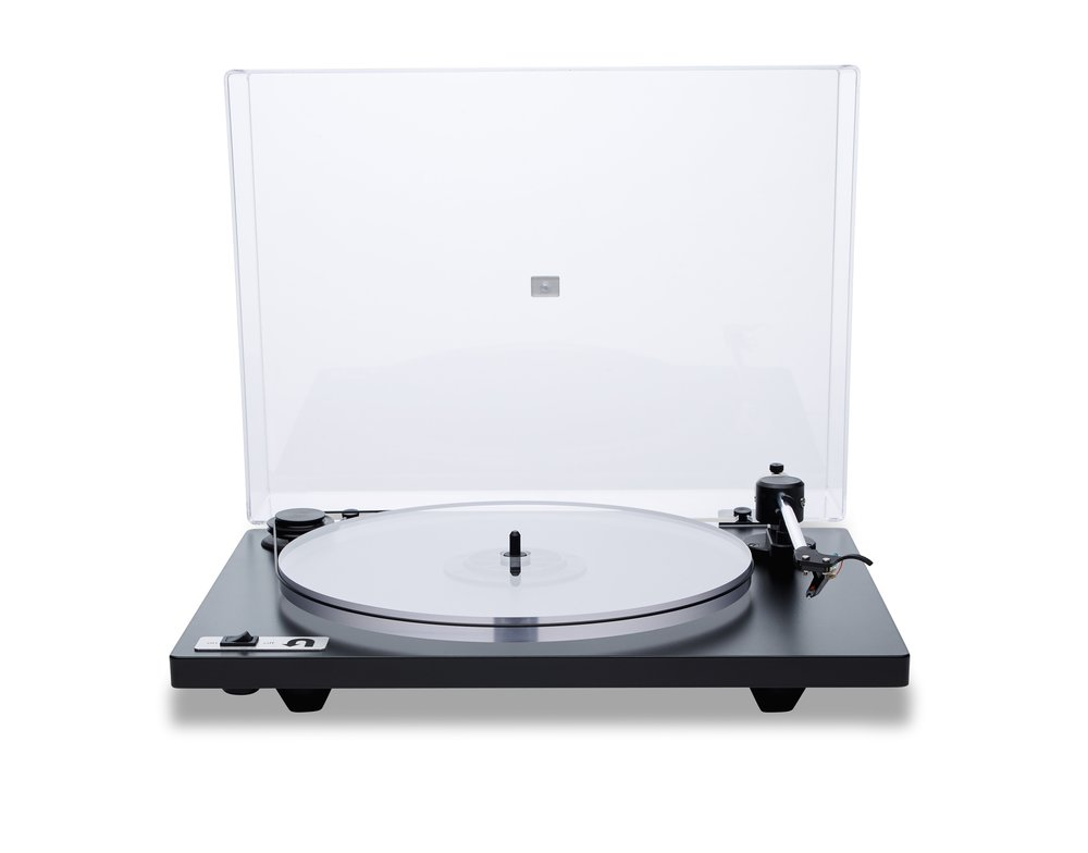 ORBIT PLUS - BLACK ACRYLIC PLATTER ORTOFON OM5E CARTRIDGE DUST COVER w/amp $359 w/amp $359 wo/amp 309